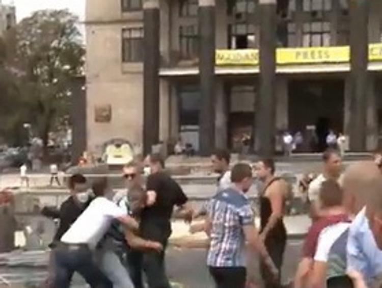 В Киеве расследуют нападение на журналистов на Майдане