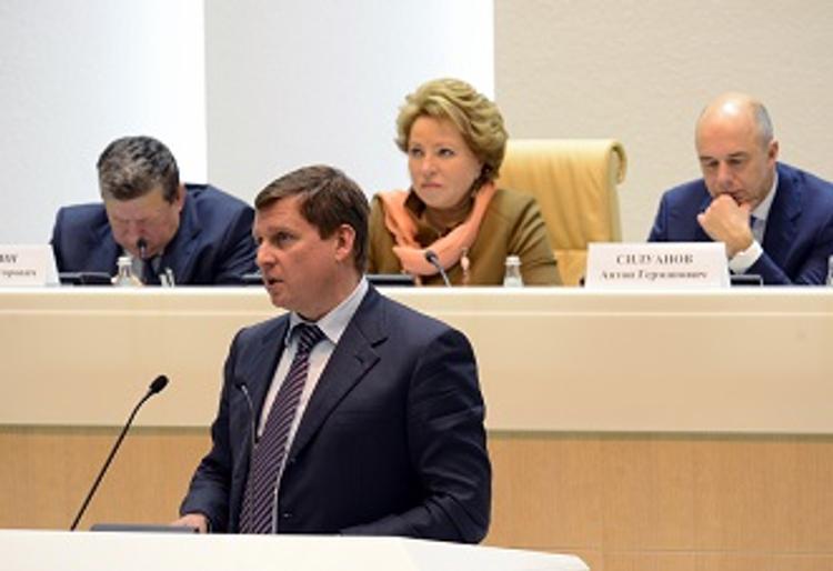 Спикер тверского ЗакСобрания выступил на парламентских слушаниях в СФ