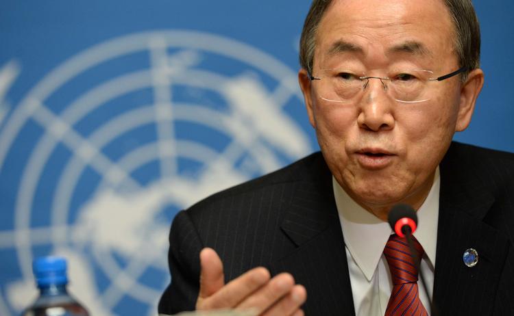 Генсек ООН призвал к отмене выборов в Новороссии