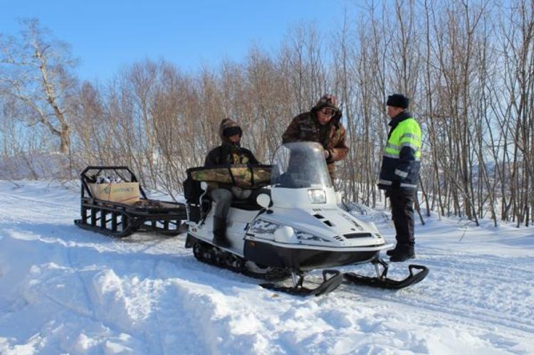 На Камчатке начинается операция «Снегоход-2015»