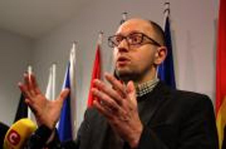 Яценюк назвал основную цель Киева