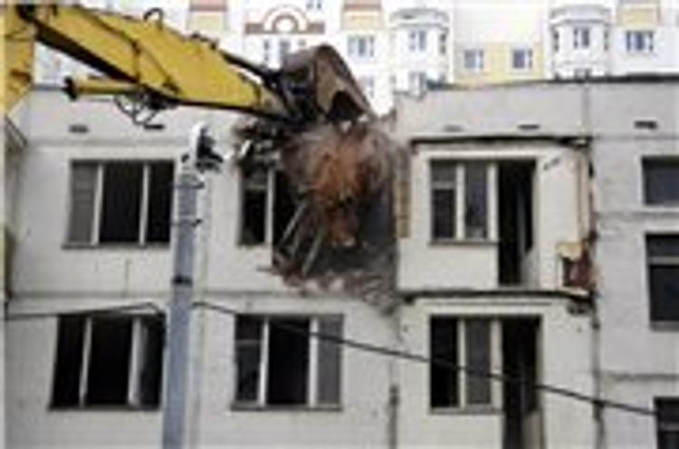 В Москве к концу года в трёх округах  снесут все пятиэтажки