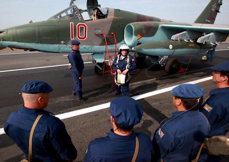 У российских военных самолетов в небе над Краснодаром отказали приборы