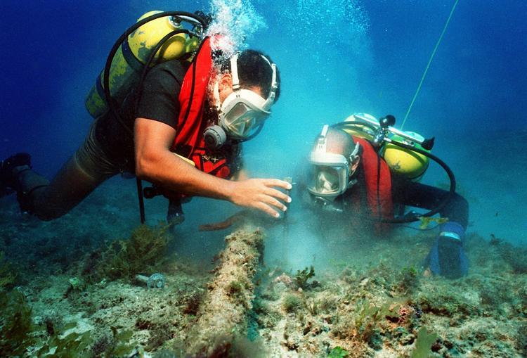 Дайверы обнаружили таинственный феномен у берегов Турции ВИДЕО