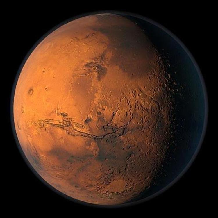 На Марсе разглядели лик фараона ВИДЕО