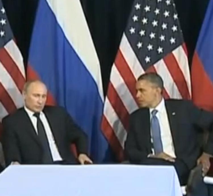 Путин и Обама чокнулись бокалами на приеме у Генсека ООН Пан Ги Муна