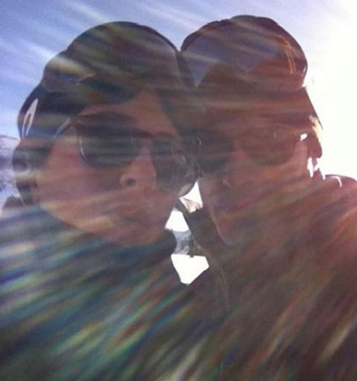 Первое селфи мегапопулярной голливудской пары опубликовано в сети