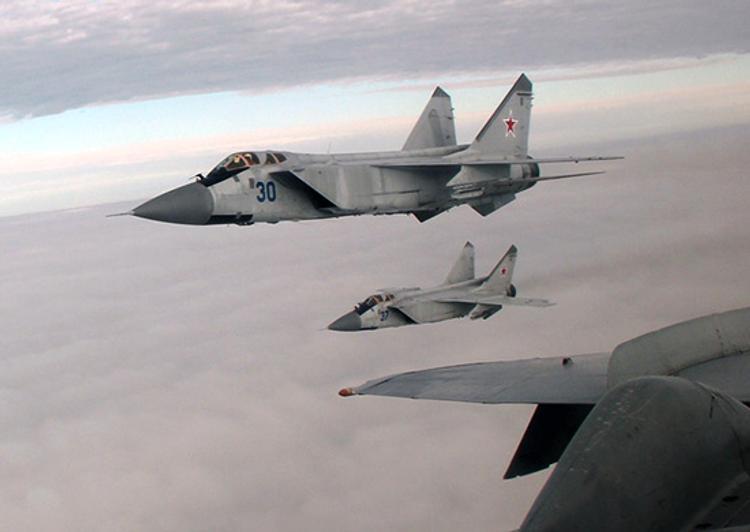 В Красноярском крае разбился военный самолет МиГ-31