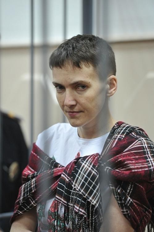 Савченко услышала свой приговор и запела гимн Украины