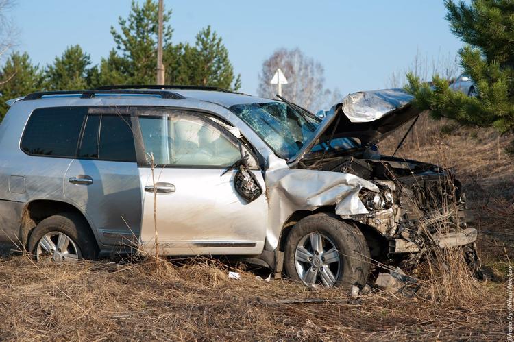 В Подмосковье произошло ДТП с участием пяти автомобилей, погибли два человека