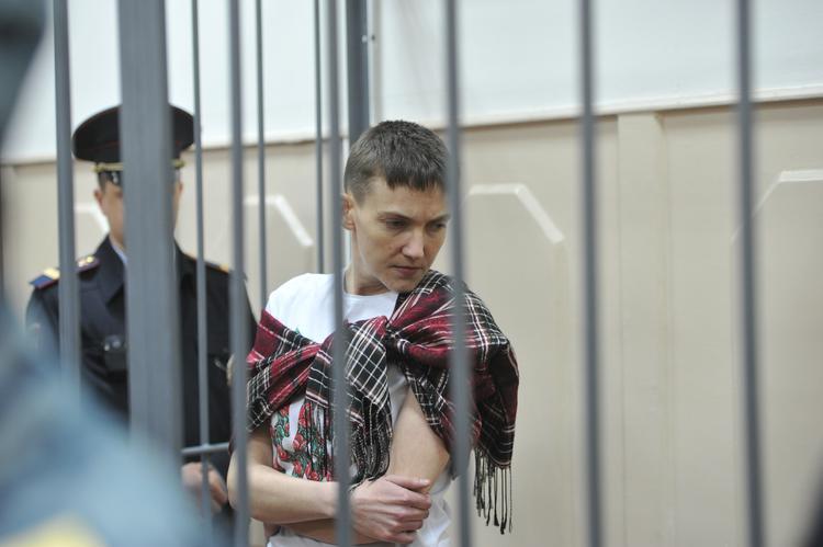 Савченко выразила готовность стать уборщицей