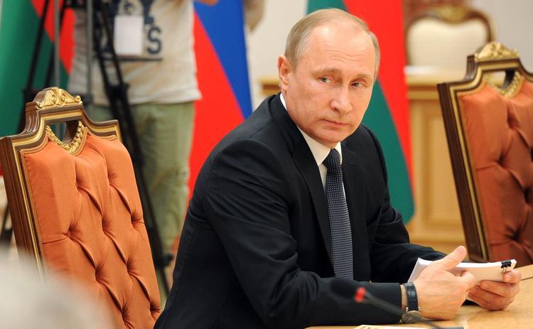 Владимир Путин прибыл в Ташкент