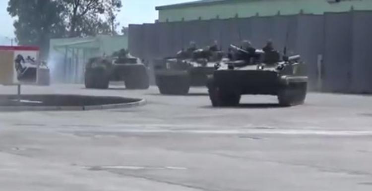 В соцсетях появилось видео внезапной проверки войск РФ (ВИДЕО)