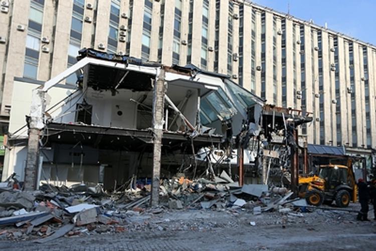 Демонтаж нелегальных торговых павильонов в Москве назвали необходимой мерой