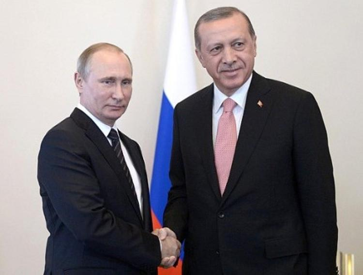 Путин и Эрдоган встретились на саммите G20