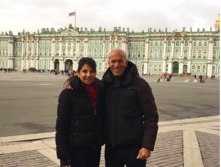 Зинедин Зидан провел выходные в Санкт-Петербурге (ФОТО)
