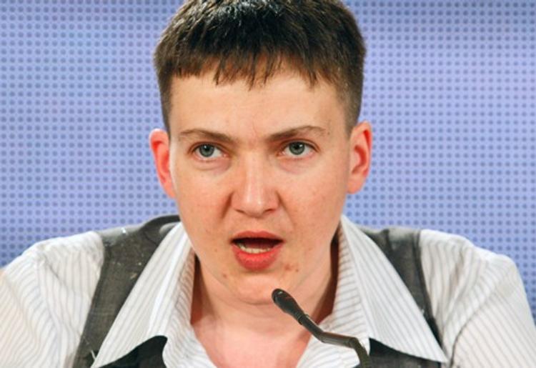 Савченко назвала Порошенко слабым президентом и переговорщиком