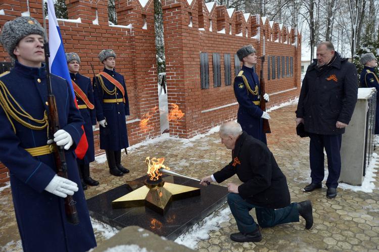 В Тверской области открыт воинский мемориал «Стена памяти»