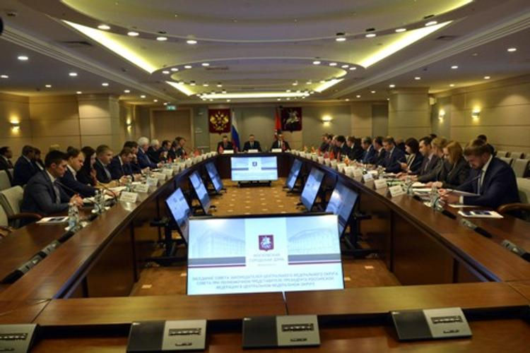В Москве прошло заседание Совета законодателей Центра России