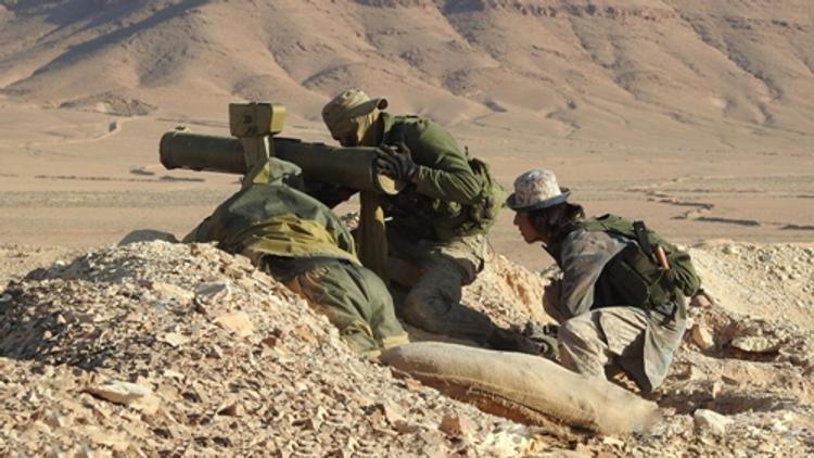 Боевики ИГ начали наступление к западу от Пальмиры