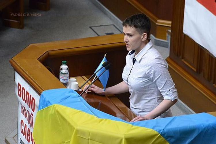 Савченко рассказала о своей связи с Кремлем