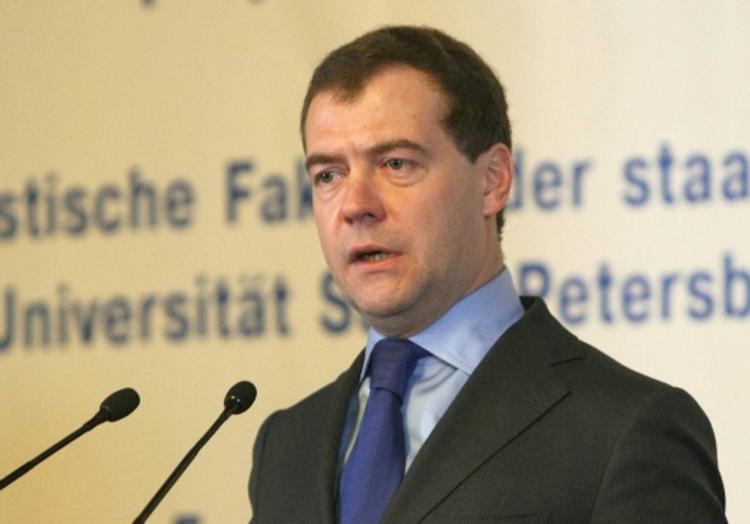 Медведев: рост экономики на полтора процента нас не устраивает