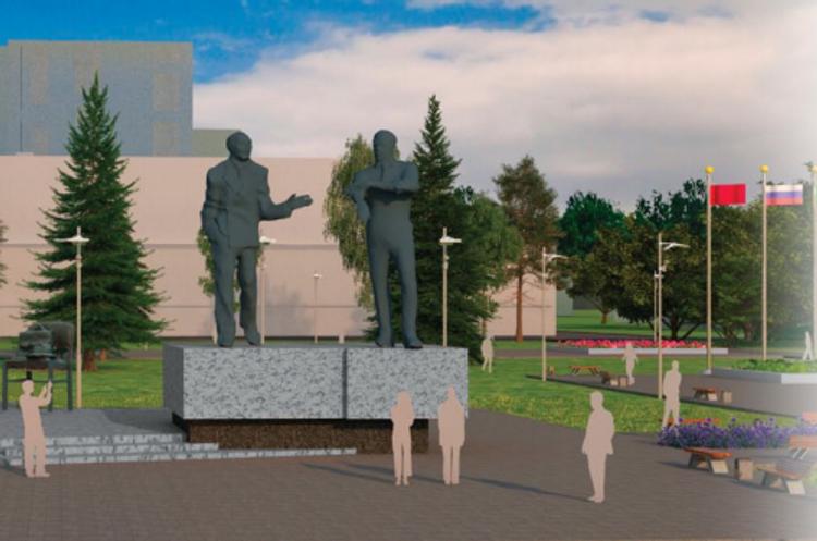 В подмосковном наукограде открыт самый большой в РФ памятник ученым