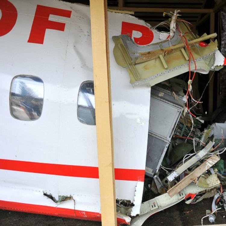 Министр транспорта объяснил, с чем связан большой разброс обломков Ту-154