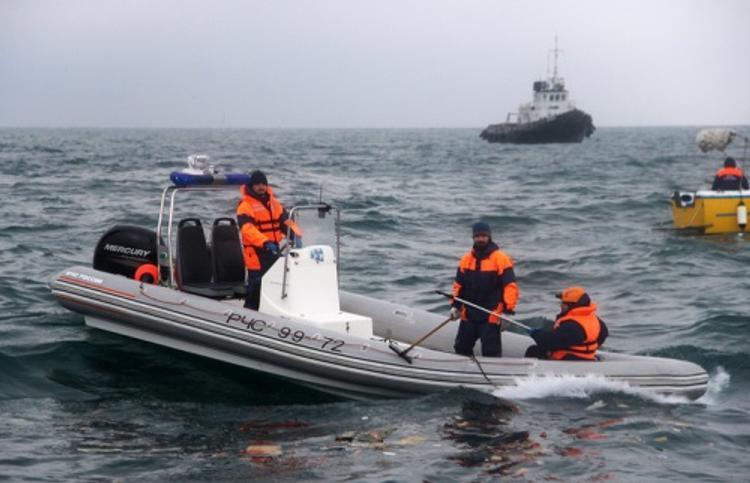 Минобороны РФ: спасжилетов на погибших в крушении Ту-154 не было