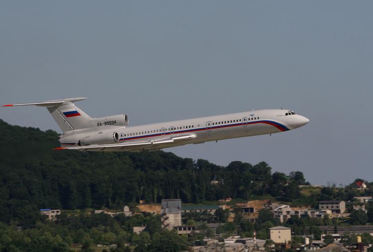 Появились догадки, почему Ту-154 не смог набрать высоту