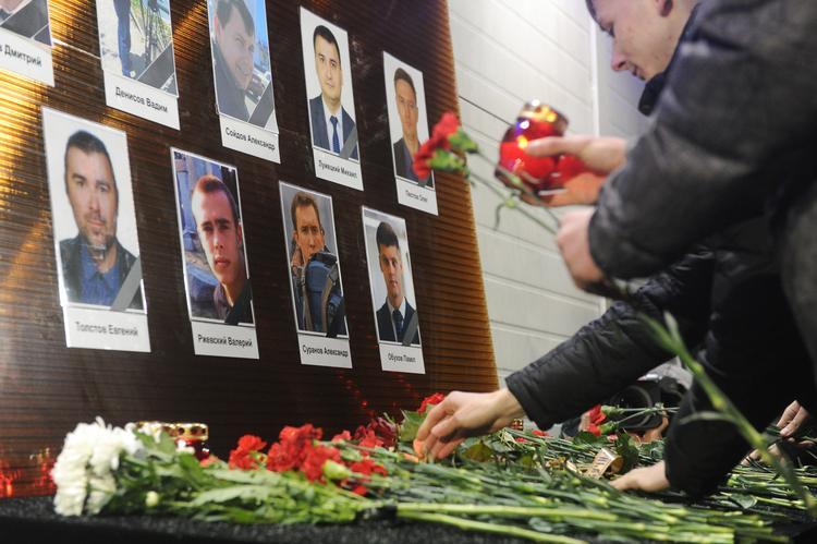 В Одессе выкинули цветы, лежавшие у генконсульства РФ в память о крушении Ту-154