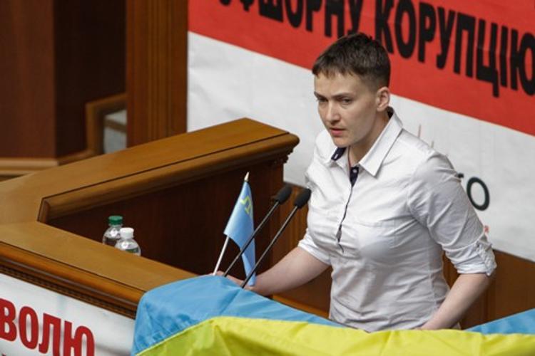 Савченко предложила вернуть Донбасс путем сдачи Крыма