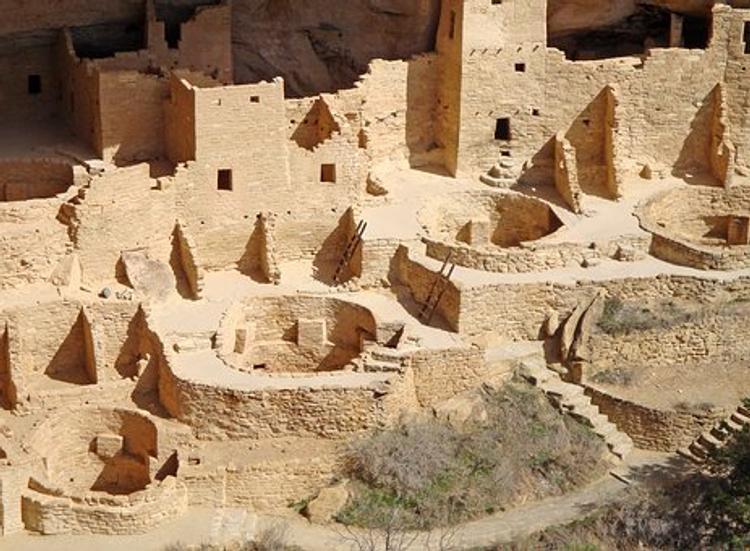 Древние индейцы пуэбло не знали письменности, зато геометрию - в совершенстве?