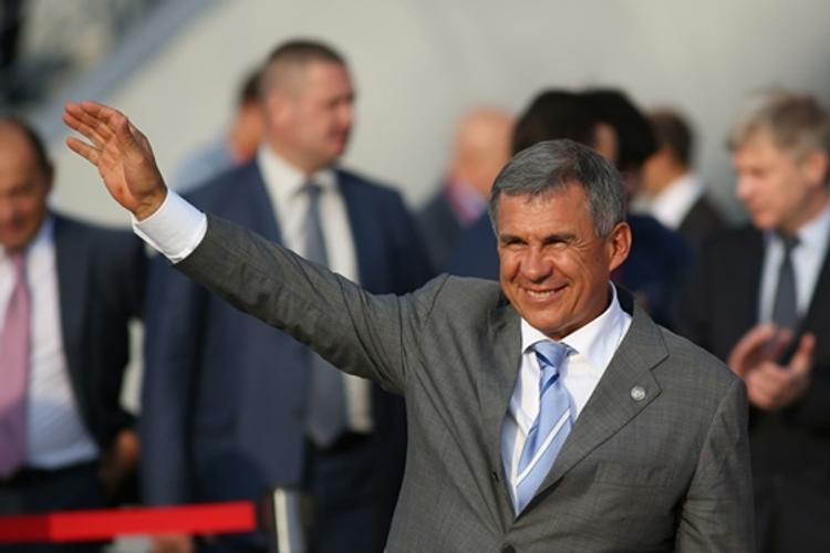 Президент Татарстана перевернулся на снегоходе (ФОТО)