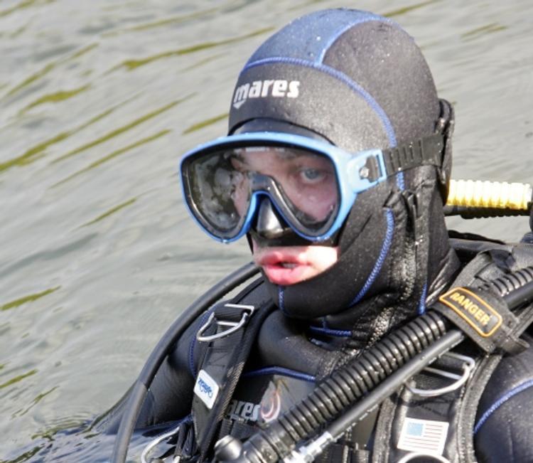 Турецкий мэр спас аквалангиста (ВИДЕО)
