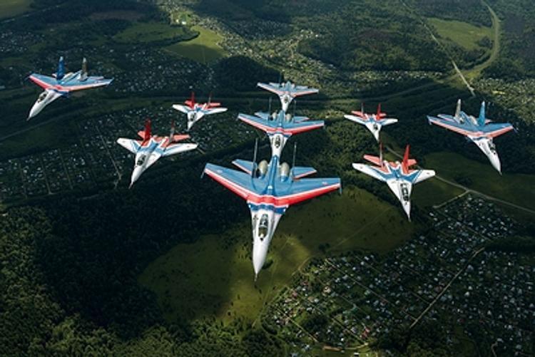 «Русские Витязи» покажут в Малайзии иркутские «сушки»