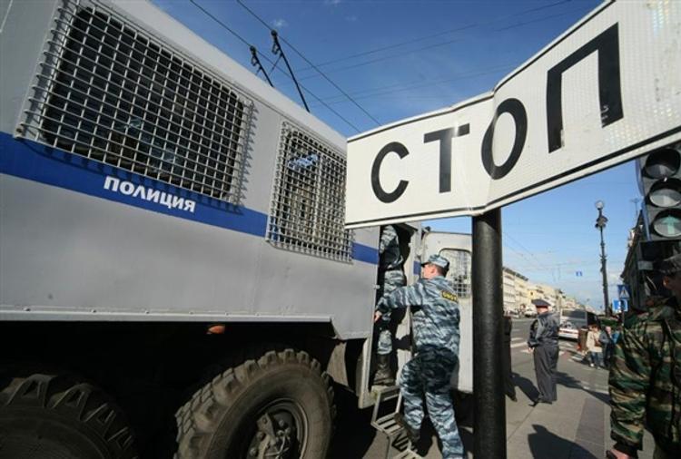 На Манежной площади задержаны четыре человека