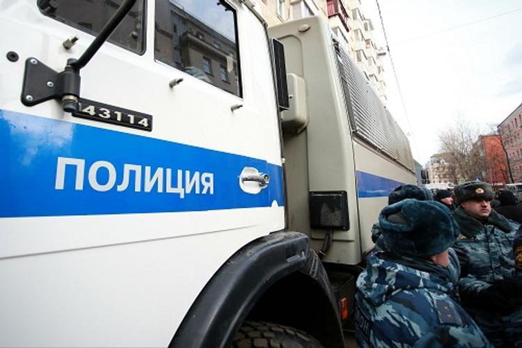 Задержаны четыре десятка участников несанкционированной акции в Москве