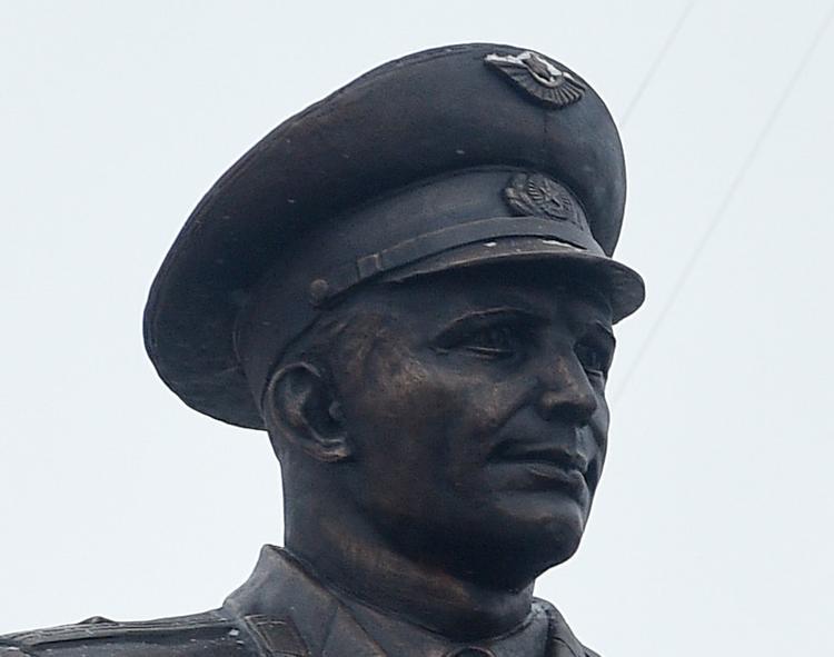 Бюст Юрия Гагарина появился в США