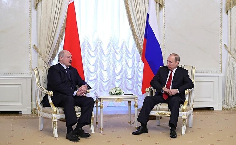 Переговоры Путина и Лукашенко длились шесть часов