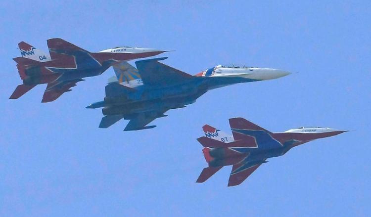 Летно-тактические учения начались в Западном военном округе