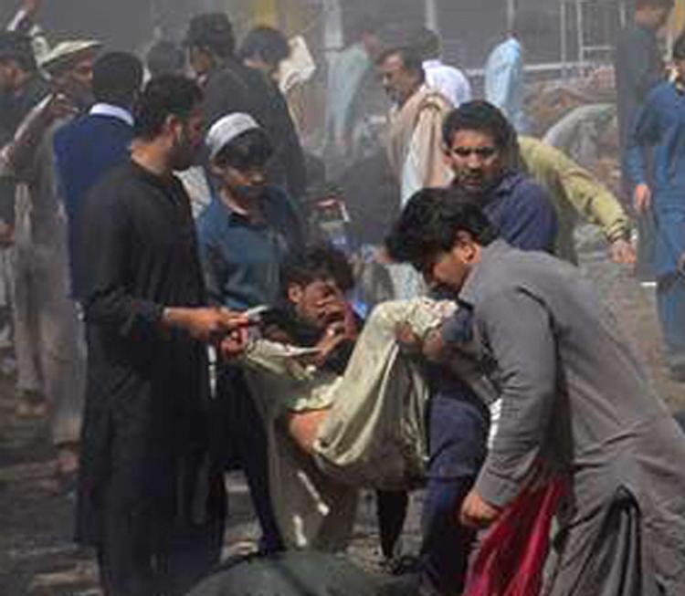 В Пакистане смертник совершил самоподрыв, есть погибшие