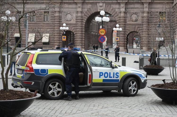 Стокгольм после теракта встал в огромных пробках