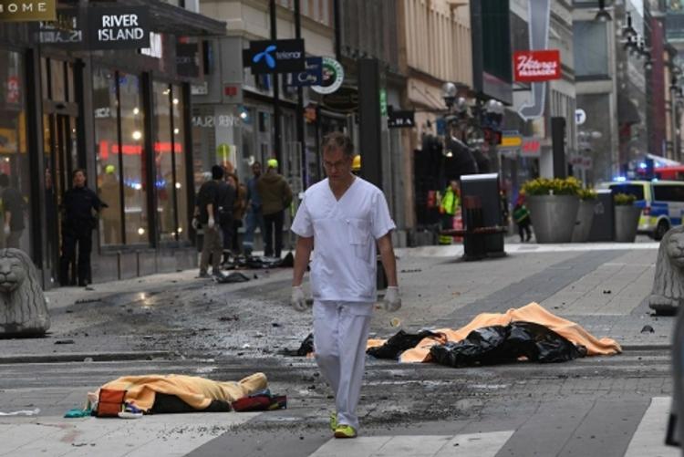 Стали известны подробности теракта в Стокгольме