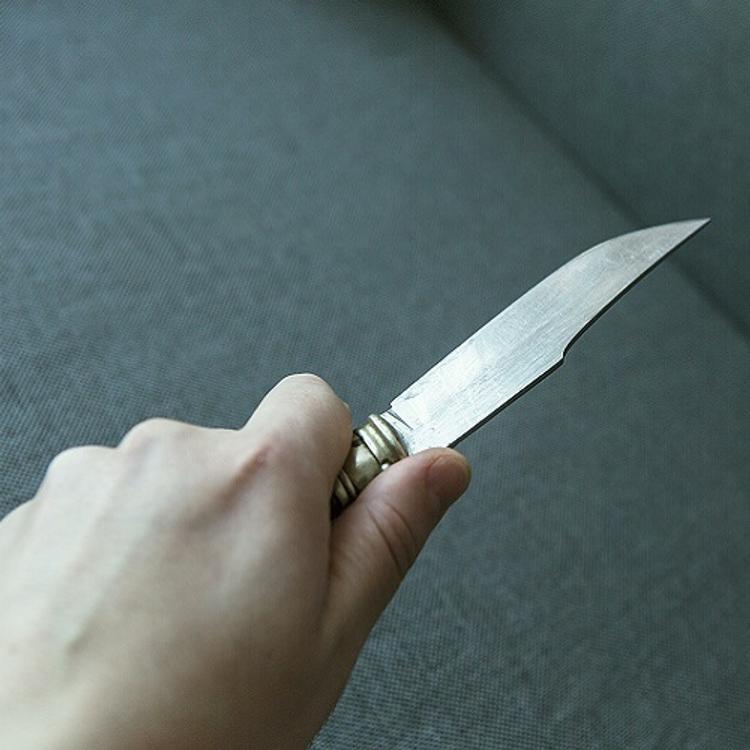 В Москве неизвестный напал с ножом на полицейского