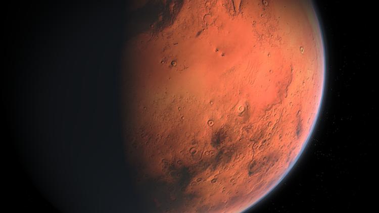 На Марсе уфологи разглядели крокодила