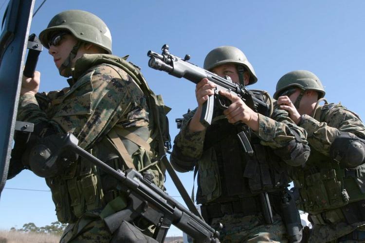 В США двух служащих уволили из армии за публикацию фото голых коллег