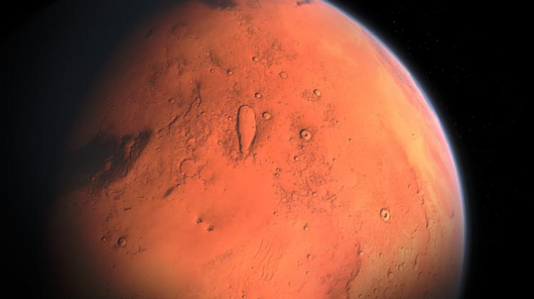 Очередная находка на Марсе: на этот раз - следы крушения НЛО