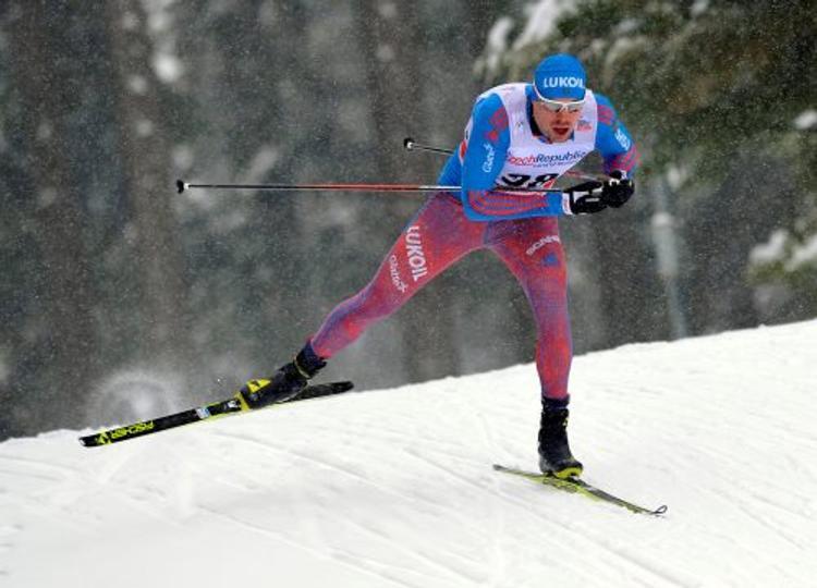 Норвежский лыжник поздравил Сергея Устюгова песней (ВИДЕО)