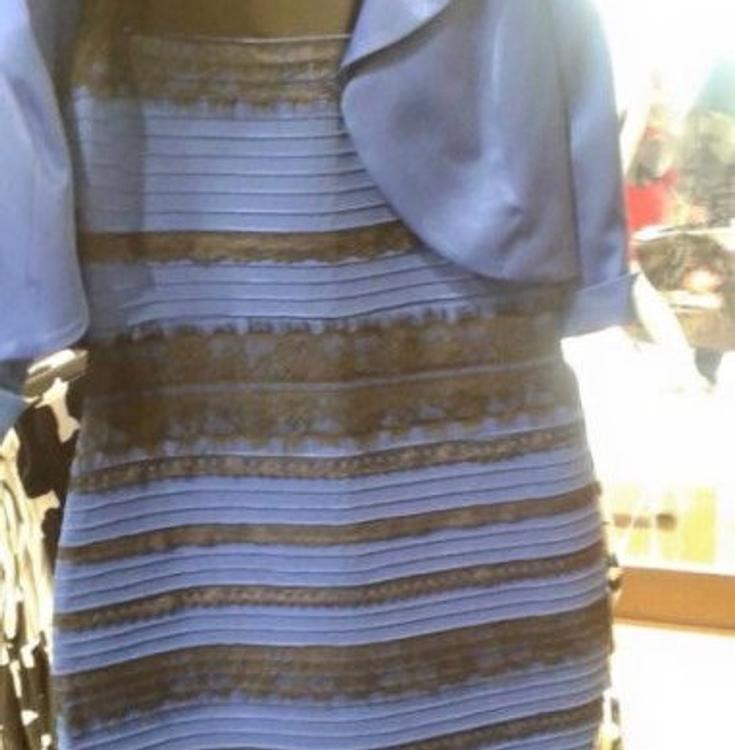 Синее или золотое: ученые поставили точку в споре про платье
